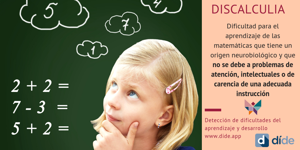 discalculia, aprendizaje del calculo, matematicas, dificultades del aprendizaje