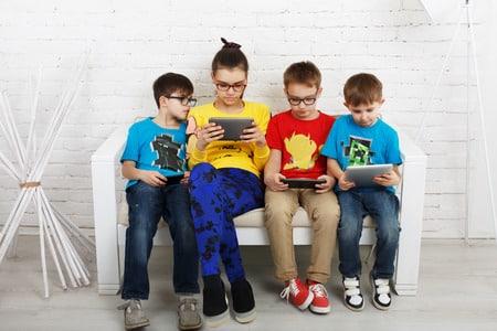 La adicción de los niños a las nuevas tecnologías