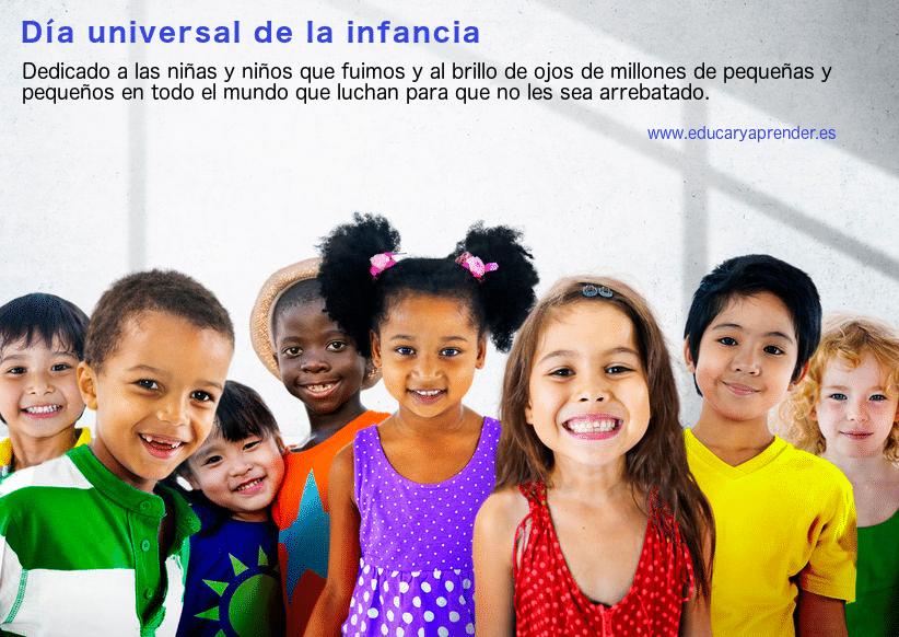 Grupo VS con el día universal de la infancia