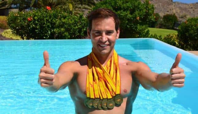 David Meca, campeón mundial natación y embajador díde