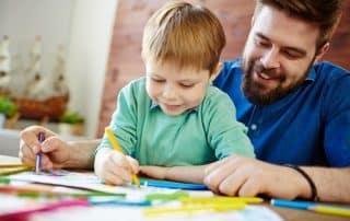 Padres y colegios. Tiempo con los hijos