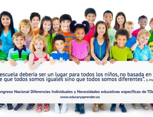 Emociones y aprendizajes en el III Congreso Nacional Diferencias individuales y Necesidades Educativas Específicas. TDAH Vallès