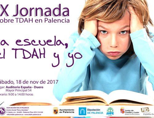 """Jornada sobre TDAH en Palencia: """"La escuela, el TDAH y yo""""."""