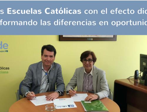 Escuelas Católicas con el efecto dide, transformando las diferencias en oportunidades