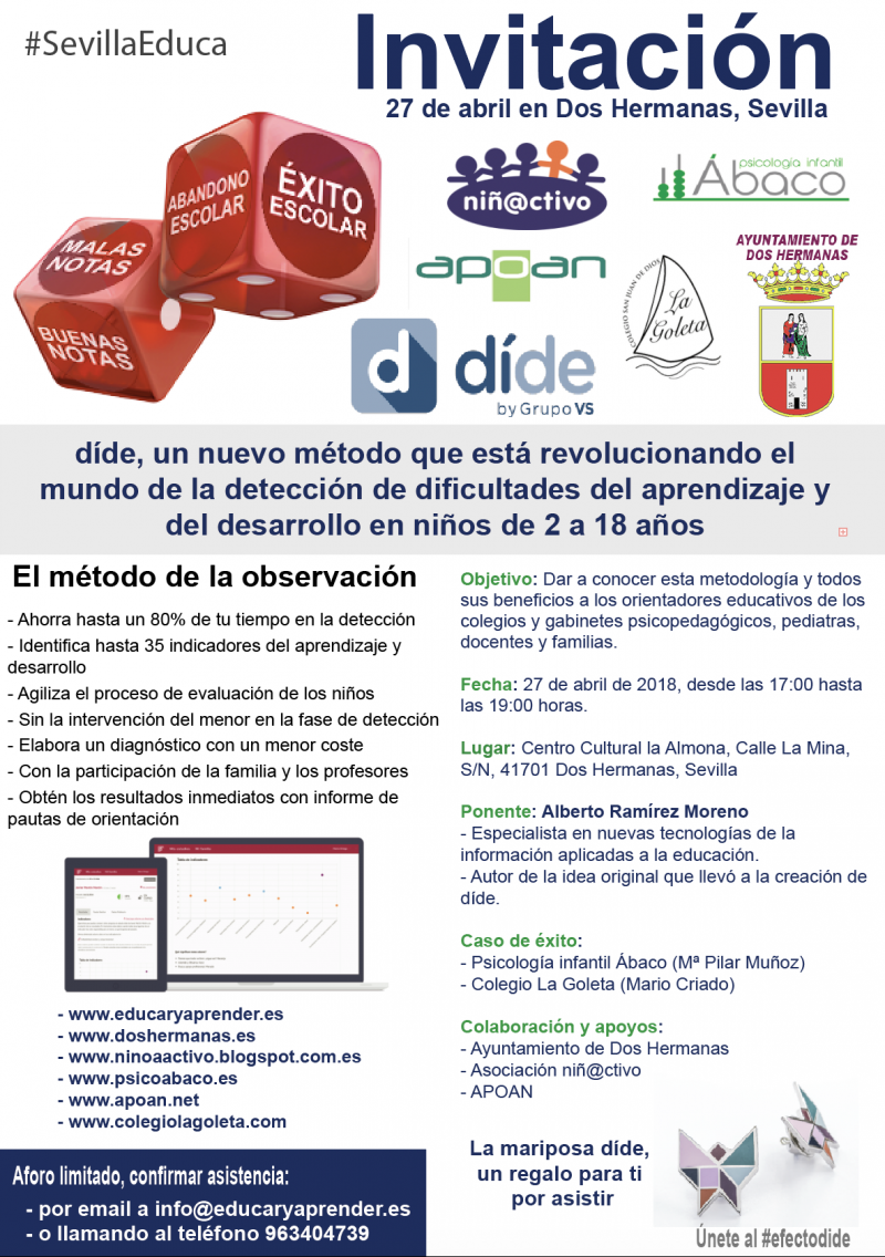 Charla informativa Dide en Dos Hermanas, Sevilla