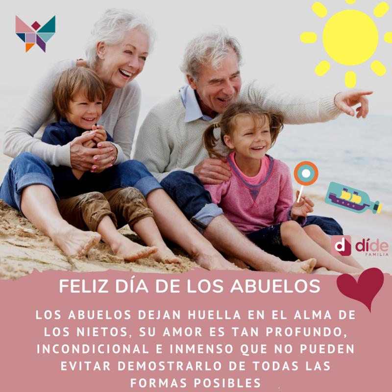 abuelos, abuelas, nietos, conciliación familiar,
