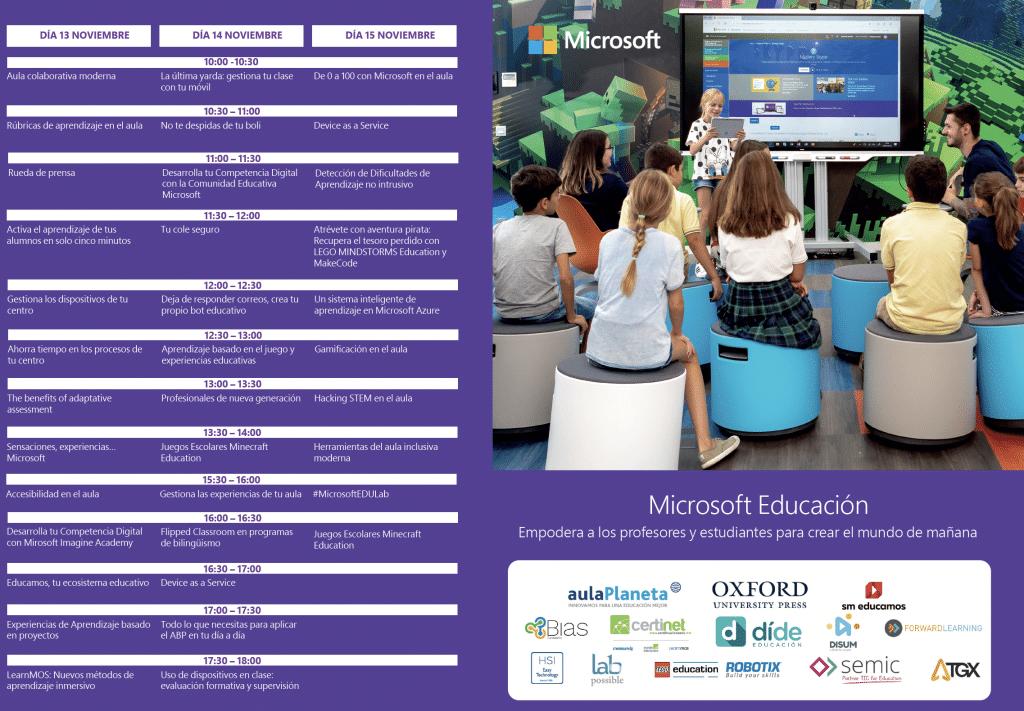 SIMO EDUCACIÓN 2018, Dide, Microsoft
