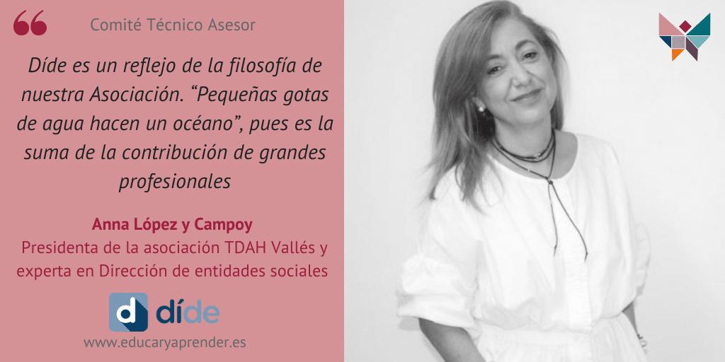 Anna López y Campoy, TDAH Vallés