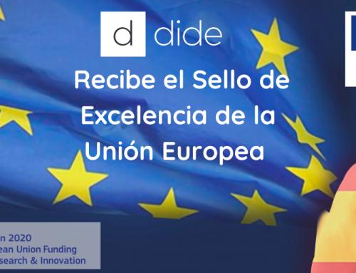 La plataforma educativa DIDE recibe el Sello de Excelencia de la Unión Europea