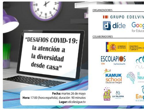 Desafíos COVID-19, la atención a la diversidad y orientación desde casa