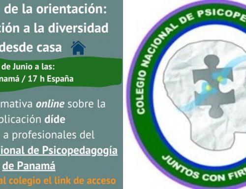 Colegio Nacional Psicopedagogía de Panamá, ¿cómo atender a la diversidad desde casa?