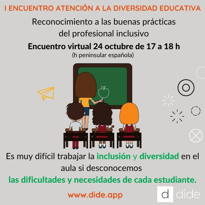 atencion a la diversidad educativa, dide