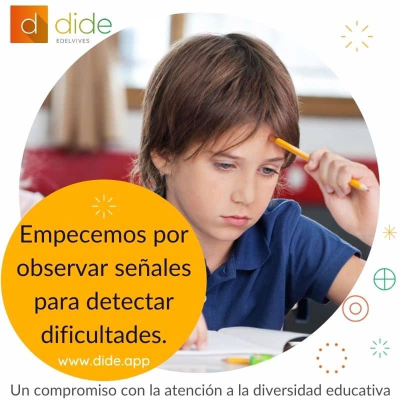 atencion a la diversidad educativa, dide.app