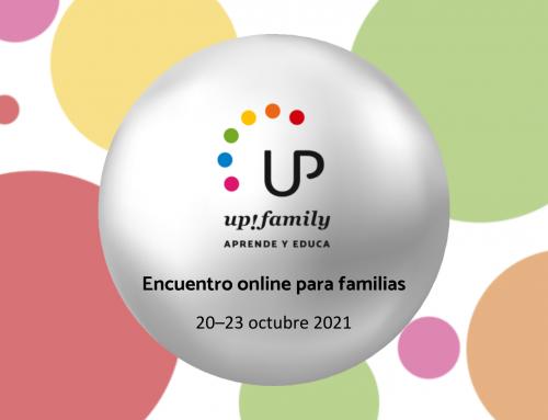 Dide colabora en el encuentro online «Aprende y educa» de UP!family